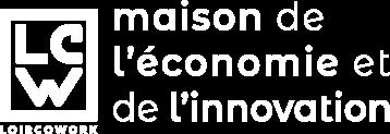 Loircowork coworking en Sarthe logo blanc